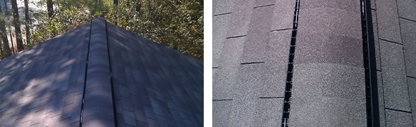 Shingle Roof Ridge Vents